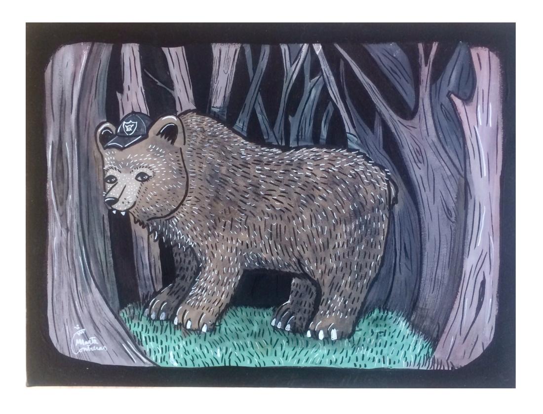 hooligan bear